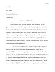 A Doll's House Literary Analysis.docx