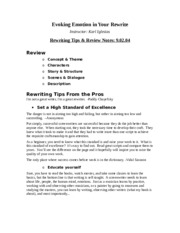 10.Rewrite tips-Review Notes