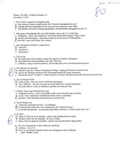 Reading quiz for chp. 13