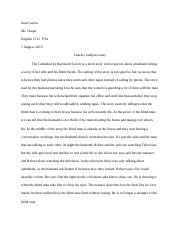 cathedral documents course hero final essay