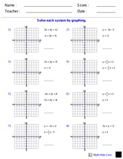 a_Simultaneous Equations (Graphical)
