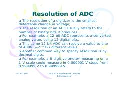 Lecture 22-Presession of ADC-DAC