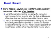 Moral Hazard and Adverse Selection_Part II