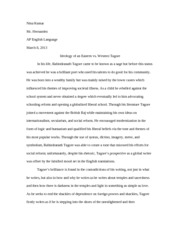 Research Paper Second Draft