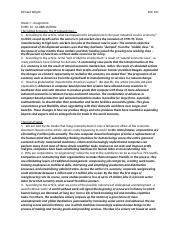 Assignment VI - Globalization and Global Inequality.doc