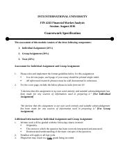 FIN 4243 - Individual Assignment - August 2016.docx
