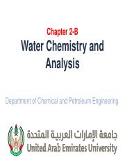 3- Water Chemistry and Analysis.pdf