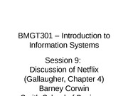 Session 9 BMGT301 - Spr 2012 - Netflix - rev 3