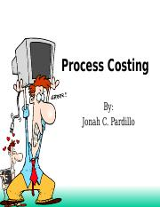 Lesson 3 - Process Costing