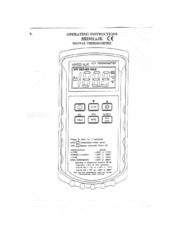 HH501AJK Digital Thermometer Manual
