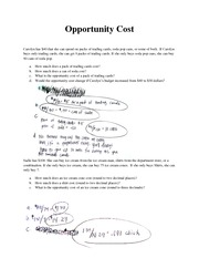 Printables Opportunity Cost Worksheet opportunity cost worksheet sadie has 100 she can buy ice cream from the