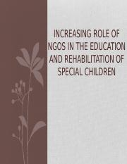 Role of NGOs 7