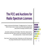 Lecture 11 The FCC and Spectrum Auctions.pptx