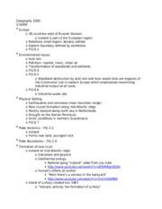 Notes for test 1 - ch. 8 & 9