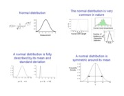 10 The normal distribution