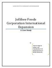 jollibee case study problem