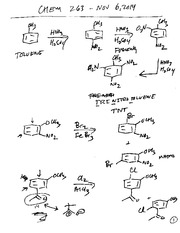Friedel Crafts and Nucleophilic Aromatic Substitution