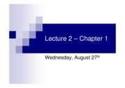 Lecture2__8211_Chapter1