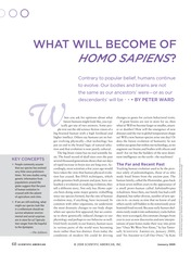 Sci Am 109 What Will Become Homo Sapiens-1