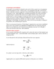 Maxwell Wave Equation notes