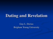 123 Dating and Revelation