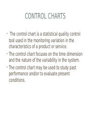 CONTROL CHARTS NOTES - Copy.pptx