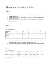 Linear function unit portfolio.docx