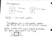 Notes on Thermodynamics and Solutions