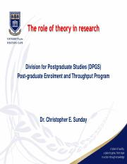 The role of theory in research (1).pdf