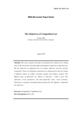 276613898-The-Objectives-of-Competition-Law