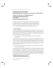 2003_Globalization_and_the_Economic_Role