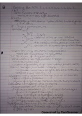 Carbohydrates Reading Notes