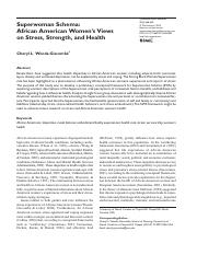 Superwoman Schema African American Women's Views on Stress, Strength, and Health.pdf