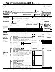 Alice Johnson 2014 Federal Form 1040.pdf