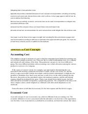mitigating risk in transportation costs A+ grade solution mgt 325 week 2 assignment - mitigating risk in transportation costs appendix 4a provides a detailed discussion of cost concepts in transportation, including accounting, economic and social costs.