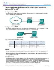 9.2.4.3 Lab - Using Wireshark to Examine TCP and UDP Captures.pdf