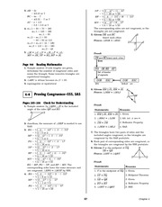 Pre-Calculus Homework Solutions 95