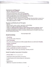 PSYCH 120  -diagnosis notes