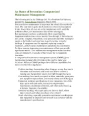 018.An Ounce of Prevention Computerized Maintenance Management (4p)