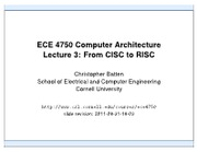 L03 - CISC to RISC
