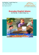 Everyday-English-Idioms
