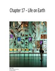 Ch 17 Life on Earth.pptx