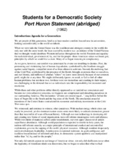 53 port huron statement