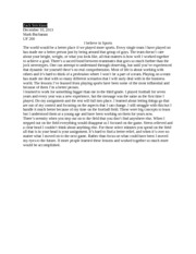 family personal narrative essay about myself essay on i believe in myself