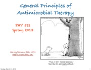 1-Principles of Antimicrobial Therapy