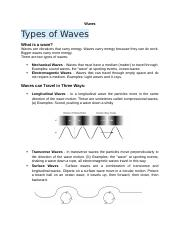 18 - Waves .docx
