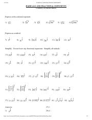 RADICALS AND FRACTIONAL EXPONENTS.pdf - RADICALS AND ...