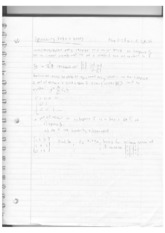 Linear Algebra Lecture 5 + 6 Notes