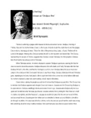 Oedipus the King Edited