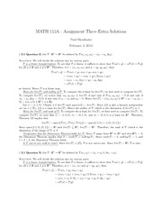 M115A-AssignmentThreeExtraSolutions